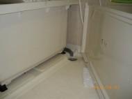 ECO BRIGHT、カビクリーナーで洗浄しました。
